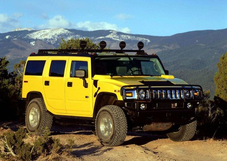 Hummer H2 Suv 2003 1600 01