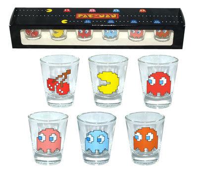 Vasos de chupito de Pac-Man