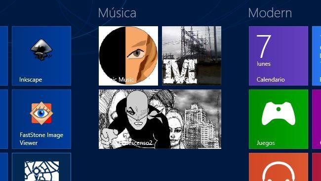 Crea mosaicos para cualquier tipo de archivo en la pantalla de inicio de Windows 8 con Tile a file