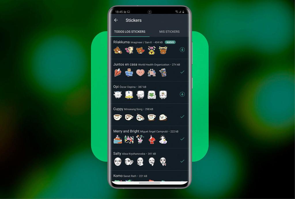 Aufkleber auf WhatsApp: wie sie herunterladen, um sie zu deiner sammlung