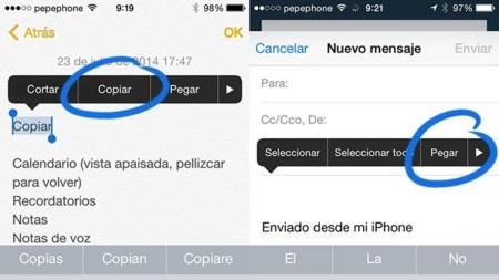 iOS desde cero: Copiar y Pegar