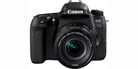 Esta noche, en la Red Night de MediaMarkt, la Canon EOS 77D con objetivo 18-55 estabilizado nos sale 200 euros más barata