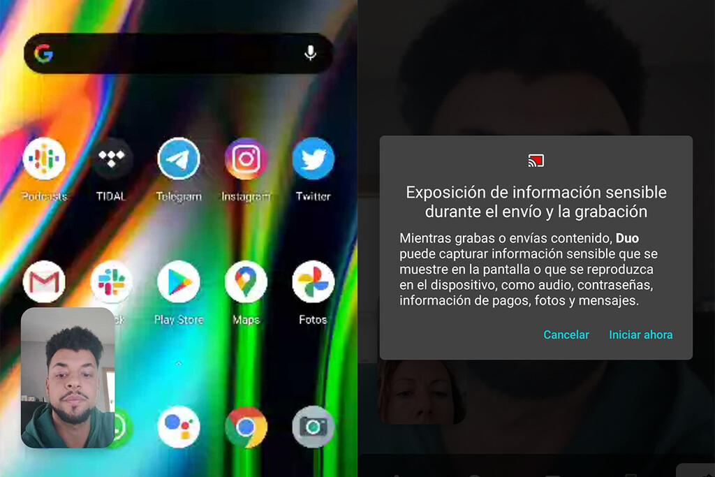 Google Duo ya concede compartir la monitor mientras alguna videollamada: así funciona