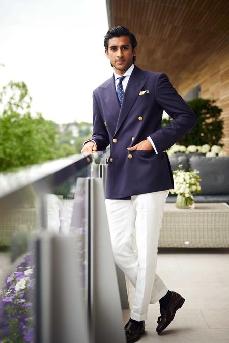 Padmanabh Singh 2 Stars In Wimbledon Style Trendencias Hombre
