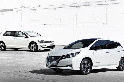 Comparativa Volkswagen e-Golf vs Nissan Leaf: ¿cuál es mejor para comprar?