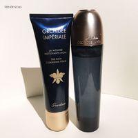 Probamos (y disfrutamos) el nuevo ritual de limpieza de Orquídea Imperial de Guerlain: la Espuma Rica Limpiadora y la Loción-Esencia