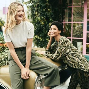 Si tienes una obsesión con el khaki y te pierde el estampado de serpiente, H&M te conquistará con sus nuevas prendas primaverales