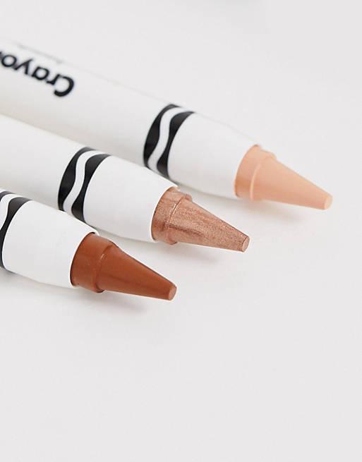 Trío de pinturas de color Sahara Desert de Crayola - Pinturas para el rostro