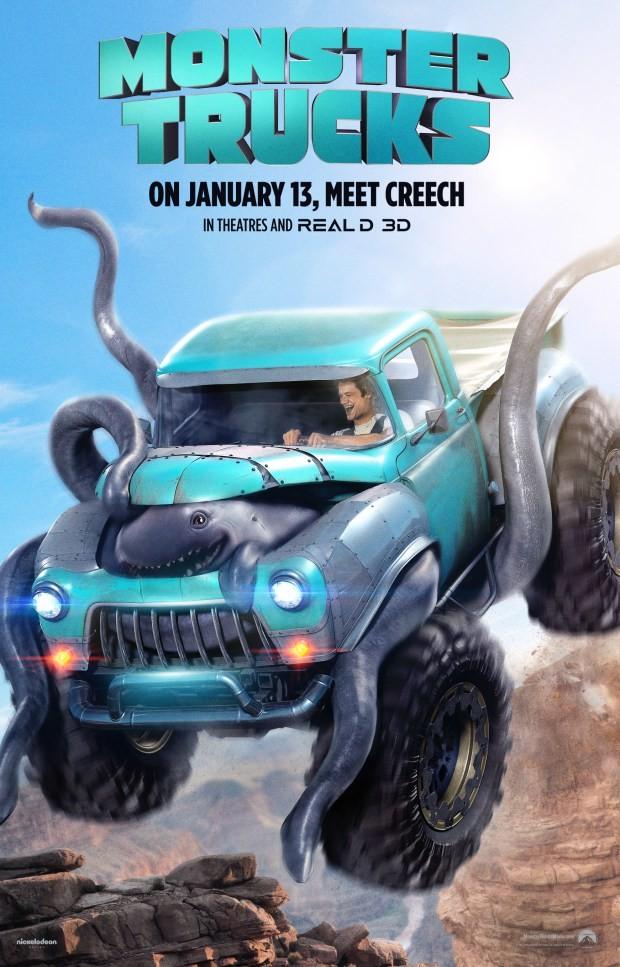 Monstertrucks Poster