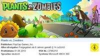 'Plants vs. Zombies', ya sabemos cuando saldrá en XBLA