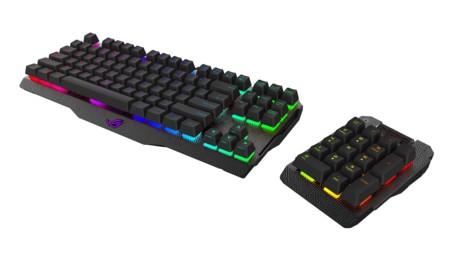 ASUS ROG Claymore es un teclado con interruptores Cherry RGB y pad desmontable