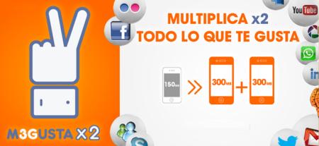 Euskaltel dobla el tráfico gratuito de M3GUSTA a los clientes con al menos dos líneas móviles