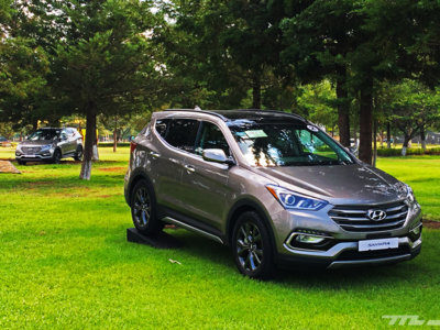 Manejamos la Hyundai Santa Fe: El turbo y el SUV jamás habían tenido tanto sentido