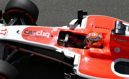 Marussia se disfraza de Ferrari y consigue su mejor resultado en una sesión clasificatoria