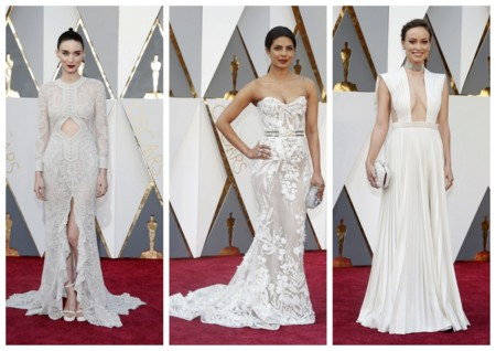 Looks En Blanco Oscar 2016