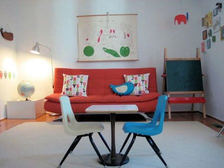 cuarto juegos sofa sillas