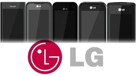 El arsenal de teléfonos LG que está por llegar