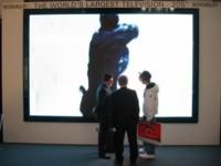 CeBIT 2007: pantalla HDTV de 205 pulgadas