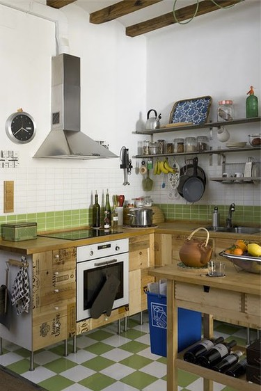 Una cocina para los amantes del buen vino
