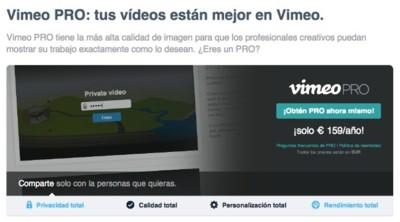 Vimeo se sube al carro del Terabyte, pero sólo en sus cuentas de pago
