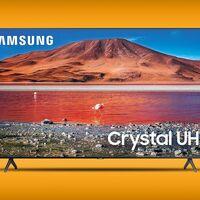 Smart TV de Samsung con oferta en Amazon México: 58 pulgadas con 4K y HDR por 10,490 pesos, uno de sus precios más bajos