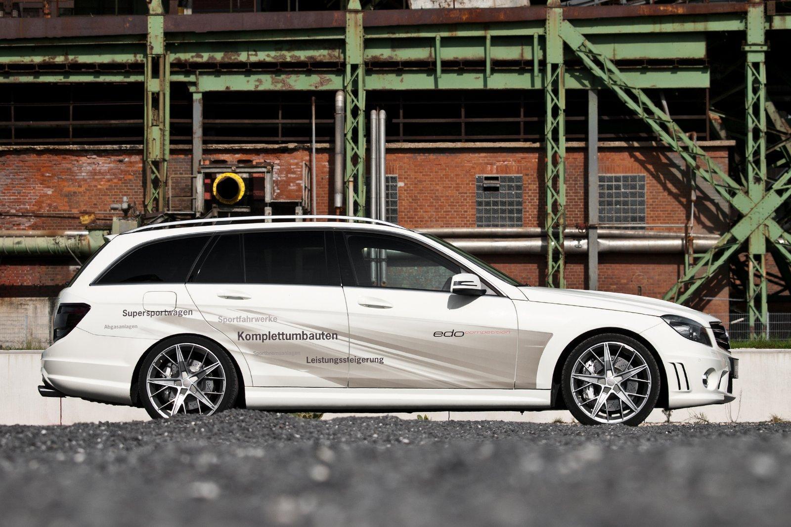 Foto de Mercedes C63 AMG Wagon por Edo Competition (7/16)