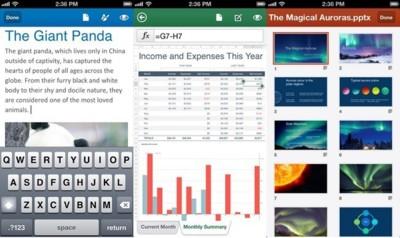 Office llega por fin de forma oficial, de momento en los iPhone estadounidenses