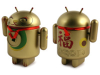 La imagen de la semana: Los Gatos Android de la suerte