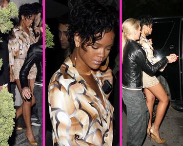 Rihanna tiene noches de fiesta muy movidas
