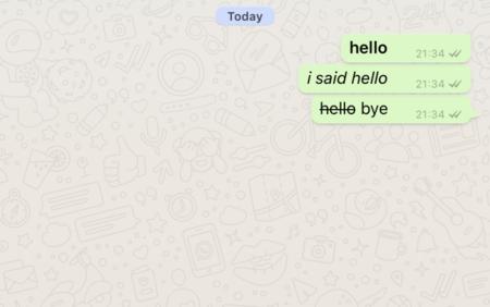 Whatsapp Formato Texto