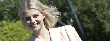 El maquillaje de fantasía de Lucy Boynton en el Festival de Cine de Venecia hará soñar a más de una