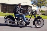 La colección de motos de Jay Leno