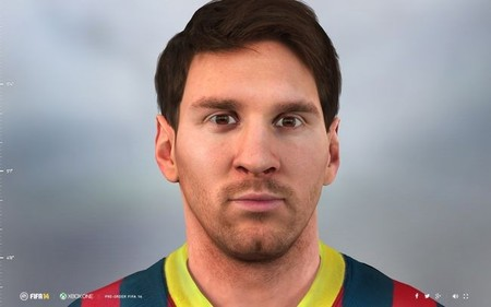 El Leo Messi virtual de 'FIFA 14' de PS4 y Xbox One imita a Mario de 'Super Mario 64'