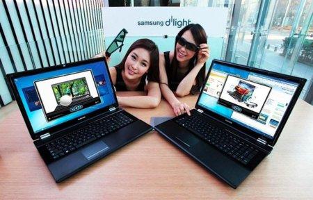 El Samsung RF712 quiere ser tu portátil 3D