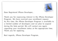 Apple no acepta desarrollos fuera de EEUU