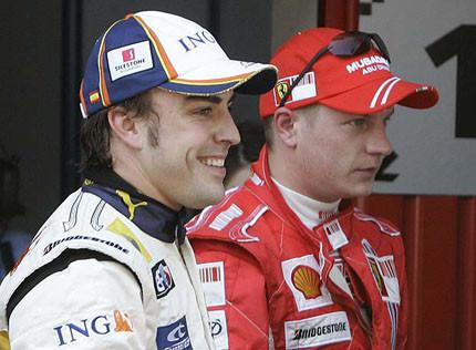 Rizar el rizo: ¿Trueque entre Raikkonen y Alonso?