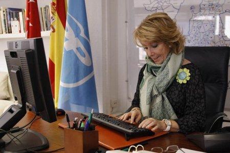 Sinde culpa a Esperanza Aguirre del descontrol en la SGAE