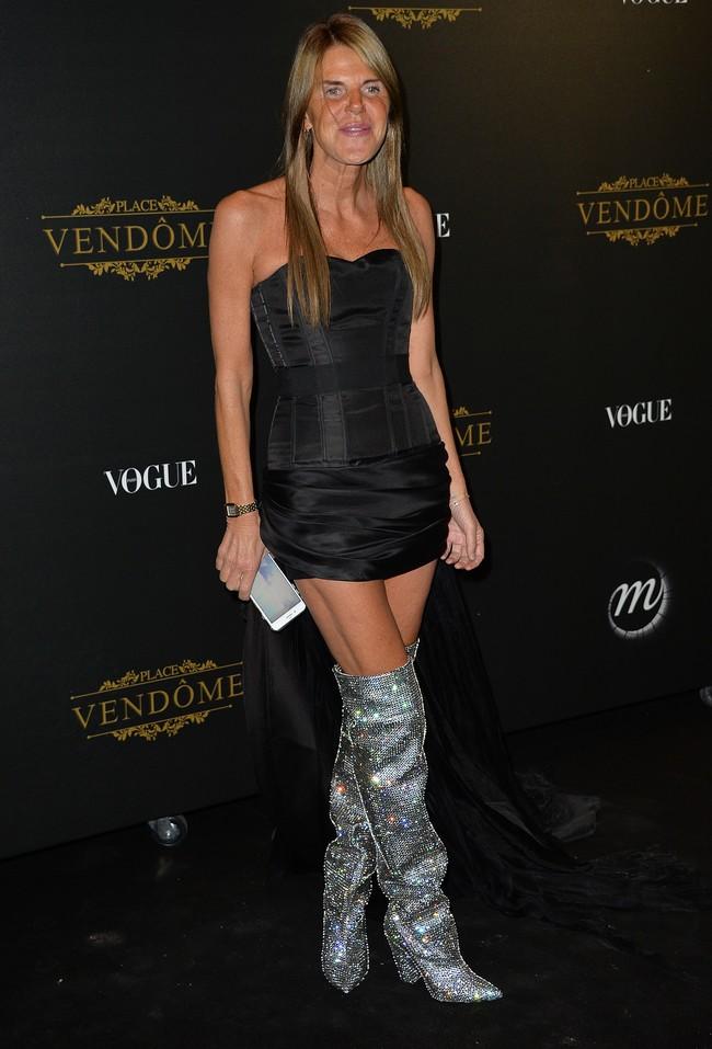 fiesta vogue paris fashion week Anna Dello Russo