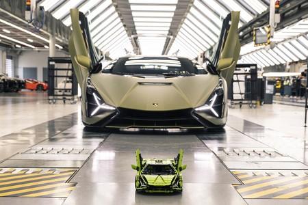 Lamborghini Sian Lego Technic 2020 005