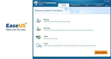Easeus Todo Backup Free se renueva con la versión 4.0