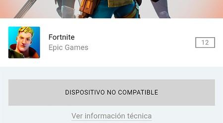 Instalar Fortnite Android No Compatibles