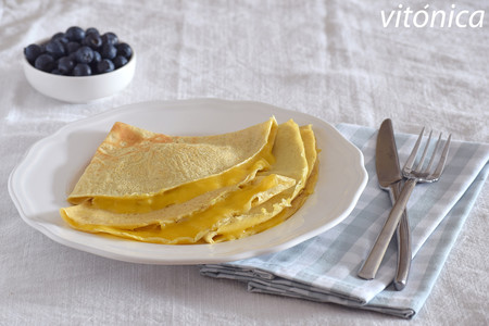Crepes fitness de avena: receta saludable para desayunos o meriendas