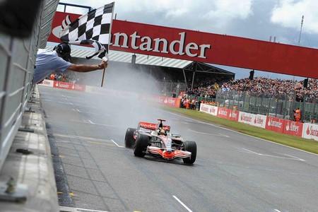 Hamilton Silverstone F1 2008