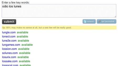 .dot.com.roulette, genera nombres de dominio para encontrar el que más te guste