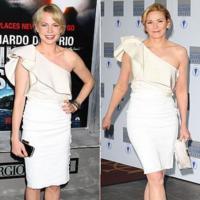 Duelo de estilos: vestido blanco de Lanvin