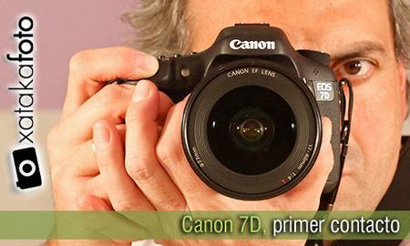 Canon 7D, toma de contacto