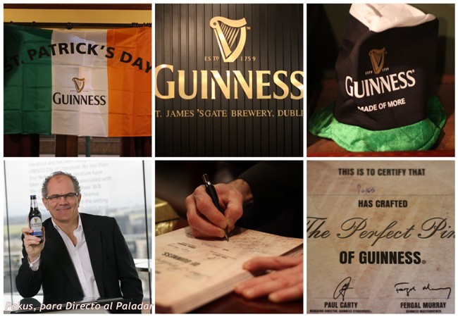 diploma pinta perfecta Guinness