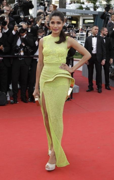 Freida Pinto Festival de Cannes 2012 Día 2