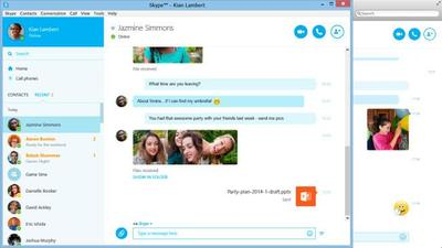 Skype actualiza sus clientes de escritorio en Windows y Mac OS renovando su interfaz