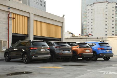 Volkswagen Taos Vs Mazda Cx 30 Seat Ateca Peugeot 2008 Comparativa Mexico 4